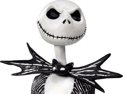 Jack Skellington Life Size Bust From Our Nightmare Before