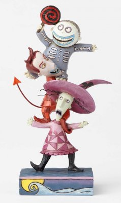 'Triple Trouble' - Lock, Shock and Barrel figurine (Jim Shore Disney Traditions)