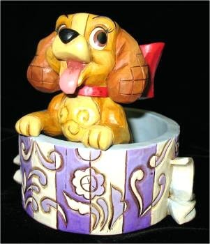Disney Cookie Jars >> Lady love from our Jim Shore Disney Traditions collection   Disney collectibles and memorabilia ...