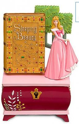 Sleeping Beauty And Story Book Jewelry Box From Our Other