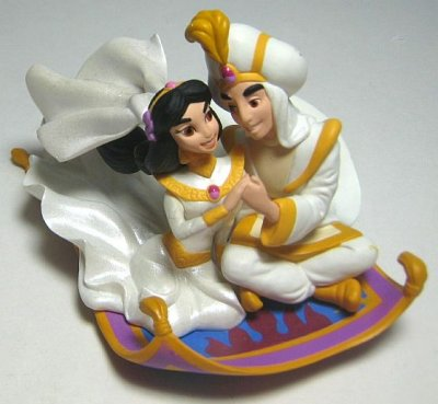 Aladdin And Jasmine On Flying Carpet Ornament Hallmark