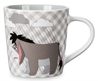 Eeyore checkered coffee mug