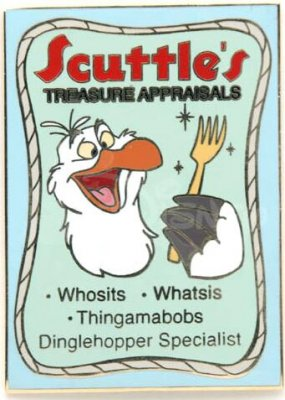 Scuttle's Treasure Appraisals - Whosits. Whatsis ...